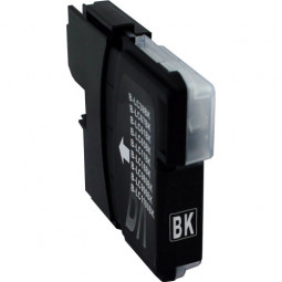 Kompatibel zu Brother LC980BK / LC1100BK Tintenpatrone schwarz