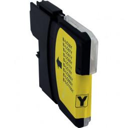 Kompatibel zu Brother LC980Y / LC1100Y Tintenpatrone gelb
