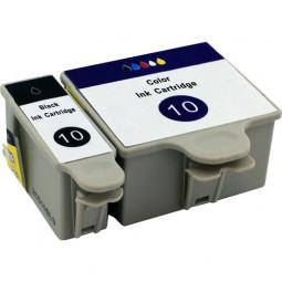 Kompatibel zu KODAK Nr. 10 Tinten-Spar-Set (je 1x BK,CL)