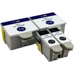 4er Combobox (kompatibel zu Kodak 10) 2BK/2CMY