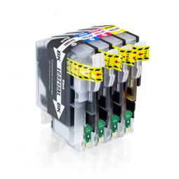 4er Set Tintenpatronen kompatibel zu Brother LC-3213 BK/C/M/Y