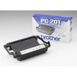 brother PC-201 schwarz Thermo-Druckfolie 1 Rolle