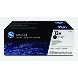 Original HP Q2612AD / 12AD Toner Black Doppelpack